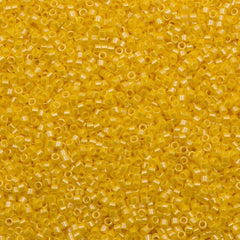 Miyuki Delica Seed Bead 11/0 Opaque Canary Luster 5g DB1562