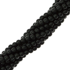 200 Swarovski 5810 2mm Round Mystic Black Pearl Beads