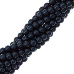 200 Swarovski 5810 2mm Round Night Blue Pearl Beads