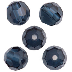 24 Preciosa Czech Crystal 4mm MC Round Bead Montana 30340
