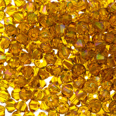 144 Swarovski 5328 Xilion Crystal 4mm Bicone Bead Sunflower Purple Haze (292 PH)