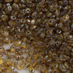 Super Uno 2x5mm Beads Crystal Picasso 15g (00030T)