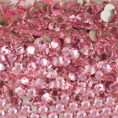 24 Swarovski Xilion Rose Flat Back SS34 2058 Light Rose (223)