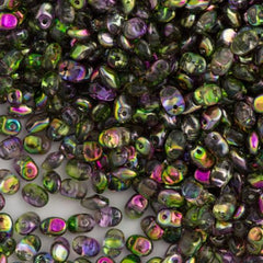 Super Uno 2x5mm Beads Crystal Magic Violet Green 15g (00030MVG)