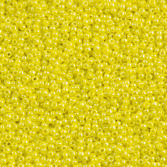Toho Round Seed Bead 11/0 Opaque Dandelion Luster 19g Tube (128)