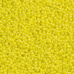 50g Toho Round Seed Beads 11/0 Opaque Dandelion Luster (128)