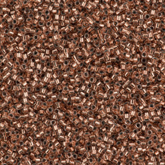 Miyuki Delica Seed Bead 15/0 Copper Lined 5g DBS37