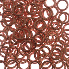 144pc 21ga. Jump Ring 5mm Copper Plated I.D. 3.3mm