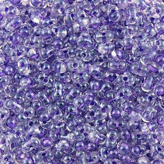 Miyuki Berry Seed Bead Inside Color Lined Sparkle Purple 15g (1531)