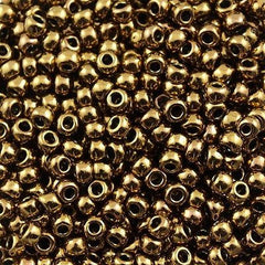 Toho Round Seed Beads 6/0 Antique Bronze 5.5-inch tube (223)