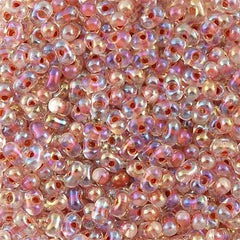 Miyuki Berry Seed Bead Inside Color Lined Salmon AB 15g BB-275