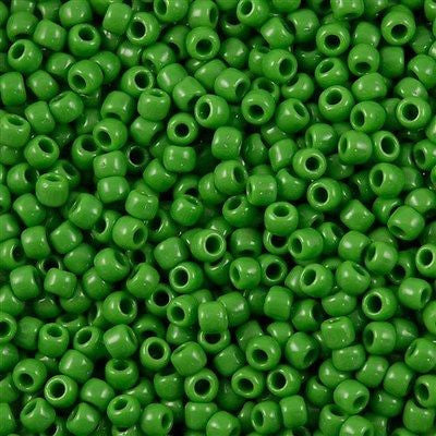 Toho Round Seed Beads 6/0 Opaque Mint 5.5-inch tube (47)