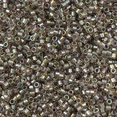 Miyuki Delica Seed Bead 11/0 Inside Dyed Color Mauve Cement 5g DB1772