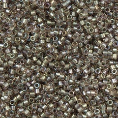 Miyuki Delica Seed Bead 11/0 Inside Dyed Color Mauve Cement 7g Tube DB1772