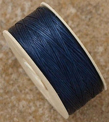 Size D Nymo Nylon Blue Thread 64 yard bobbin