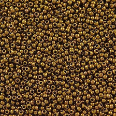 Toho Round Seed Beads 11/0 Antique Bronze 15g (223)