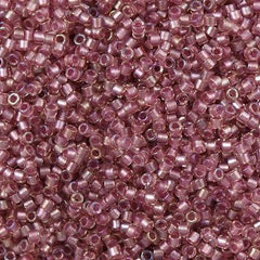 Miyuki Delica Seed Bead 11/0 Amethyst Inside Dyed Color Orchid 5g DB1745