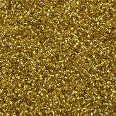Toho Round Seed Bead 11/0 Silver Lined Champagne 15g (2151S)