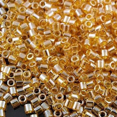 Miyuki Delica Seed Bead Pale Amber Luster 5g 8/0 DBL99