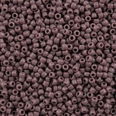 Toho Round Seed Beads 8/0 Opaque Amethyst 30g (52)