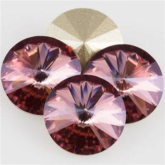 Four Swarovski Crystal 14mm 1122 Rivoli Antique Pink (001 ANTP)