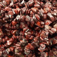 Brecciated Jasper Chip Beads 36-inch strand