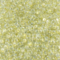 Miyuki Berry Seed Bead Inside Color Lined Sparkle Celery 15g BB-1527