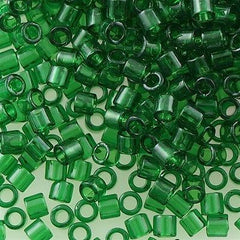 Miyuki Delica Seed Bead 8/0 Transparent Green 6.7g Tube DBL705