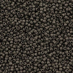 Toho Round Seed Beads 11/0 Higher Metallic Gray 15g (602F)