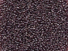Toho Round Seed Bead 15/0 Transparent Luster Amethyst 10g (115)