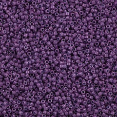 Miyuki Delica seed bead 11/0 Opaque Dyed Lavender 5g DB660