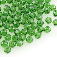 Swarovski Crystal 6mm 5000 Round Bead Fern Green (291)