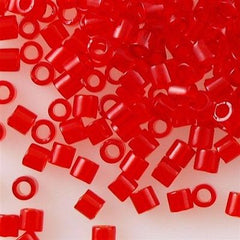 Miyuki Delica Seed Bead Transparent Red 5g 8/0 DBL704