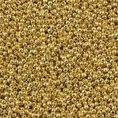 Toho Round Seed Bead 11/0 Permanent Finish Galvanized Starlight 15g (557PF)