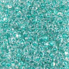 Miyuki Berry Seed Bead Inside Color Lined Sparkle Aqua Green 15g BB-1528