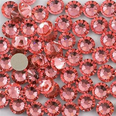 144 Swarovski Xilion Rose Flat Back SS12 2058 Rose Peach ((262)