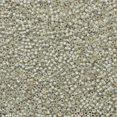 Miyuki Delica Seed Bead 11/0 Matte Silver Plated 5g DB551F