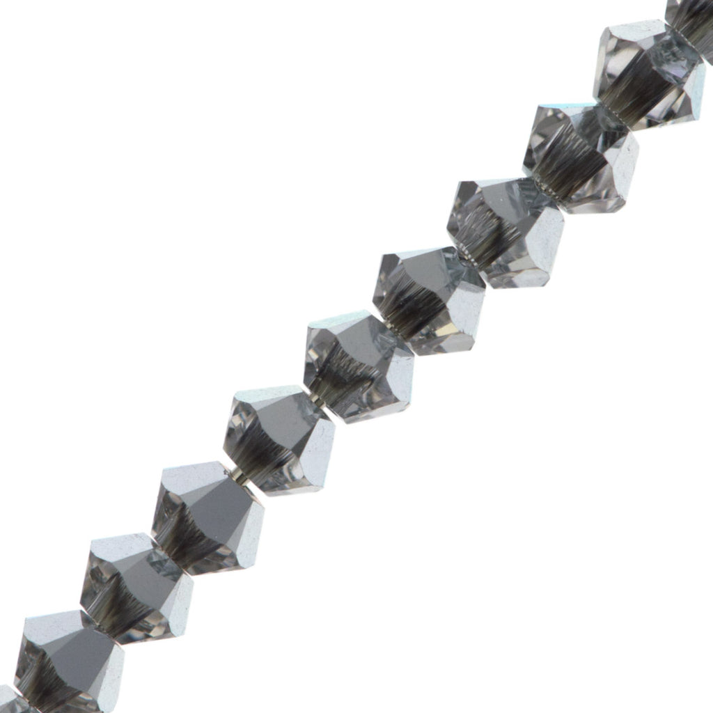 8bfd5e33a 144 Swarovski 5328 Xilion 3mm Bicone Bead Crystal Comet Argent Light ( |  Auracrystals