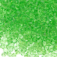 144 Swarovski 5328 Xilion 3mm Bicone Bead Peridot (214) group