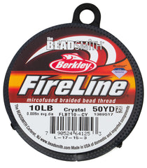 Crystal Fireline 10Lb .25mm Beading Thread 50 yard Spool