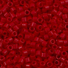 Miyuki Delica Seed Bead 8/0 Opaque Red 6.7g Tube DBL723