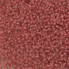 Czech Seed Bead 10/0 Terracotta Color Lined 15g (38395)