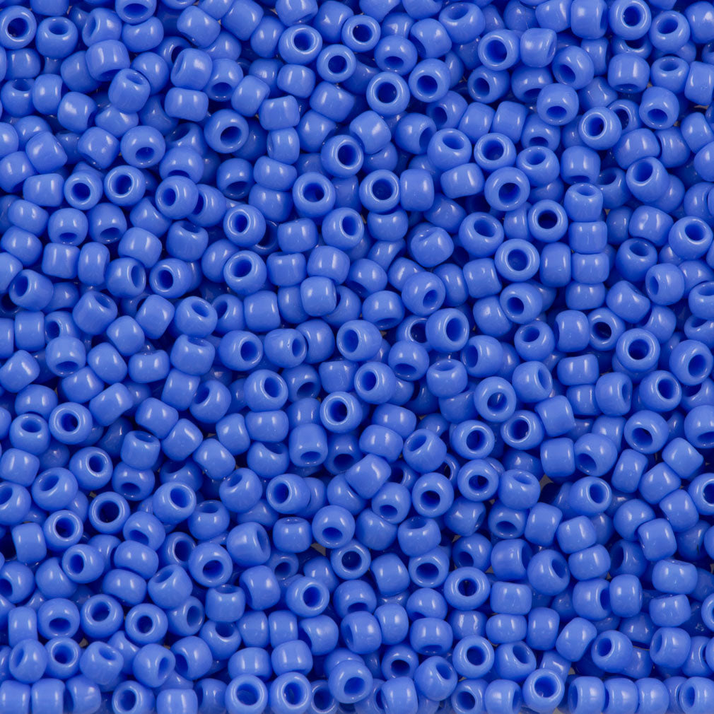 Toho Round Seed Bead 8/0 Opaque Light Cobalt (48L)