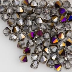 72 Preciosa Czech Crystal 6mm MC Bicone Bead Crystal Zairite HA6-00030ZAI