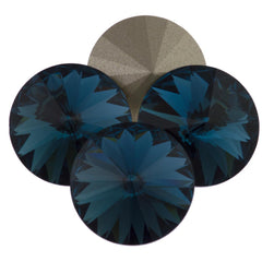 Four Swarovski Crystal 14mm 1122 Rivoli Montana (207)