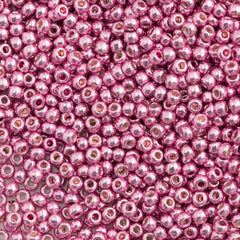 Toho Round Seed Bead 15/0 Galvanized Pink Lilac 2.5-inch Tube (553)