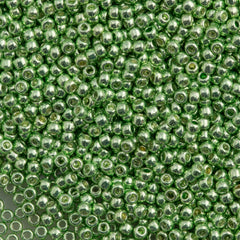 Toho Round Seed Beads 11/0 Galvanized Sea Foam 15g 11-560