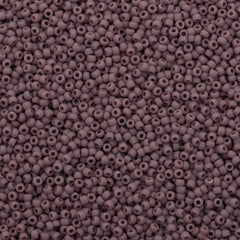 Toho Round Seed Bead 11/0 Opaque Matte Amethyst 19g Tube (52F)