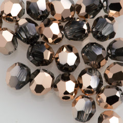 Swarovski 3mm 5000 Round Bead Crystal Rose Gold (001 ROGL)