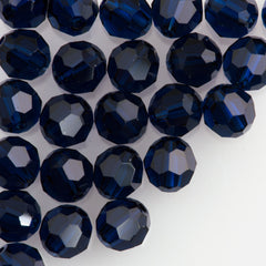 Swarovski Crystal 10mm 5000 Round Bead Dark Indigo (288)